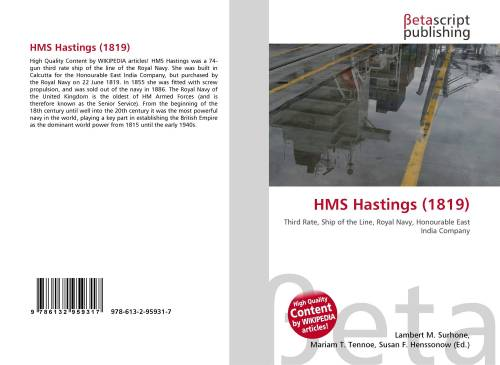 small resolution of bookcover of hms hastings 1819 omni badge 9307e2201e5f762643a64561af3456be64a87707602f96b92ef18a9bbcada116