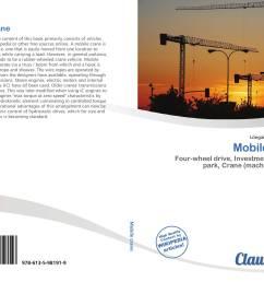bookcover of mobile crane 9786135981919 [ 2000 x 1441 Pixel ]