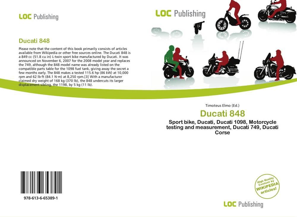 medium resolution of bookcover of ducati 848