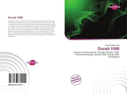 small resolution of bookcover of ducati 1098