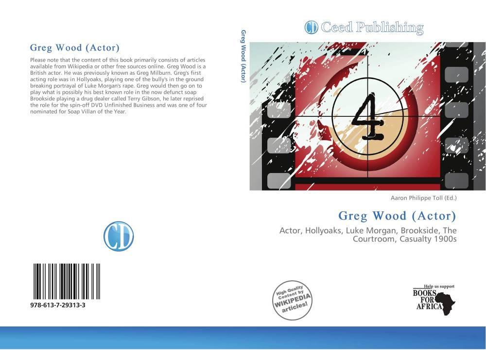 medium resolution of bookcover of greg wood actor