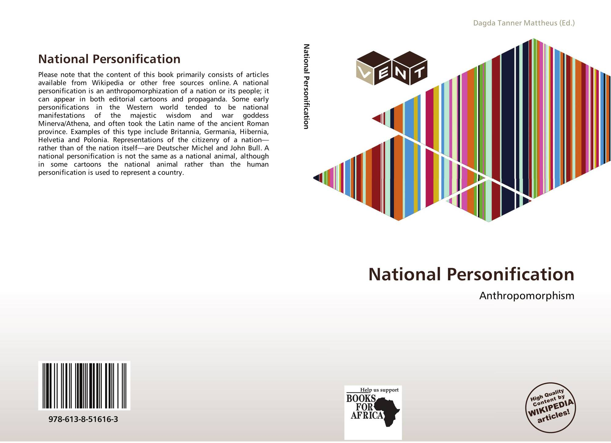 hight resolution of bookcover of national personification