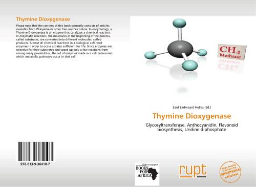 small resolution of bookcover of thymine dioxygenase