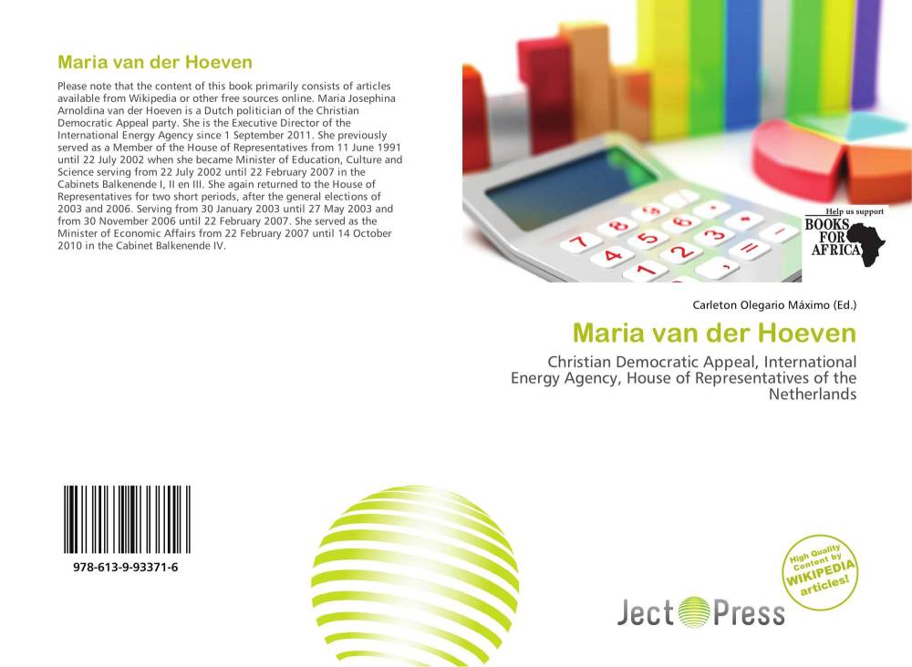medium resolution of bookcover of maria van der hoeven