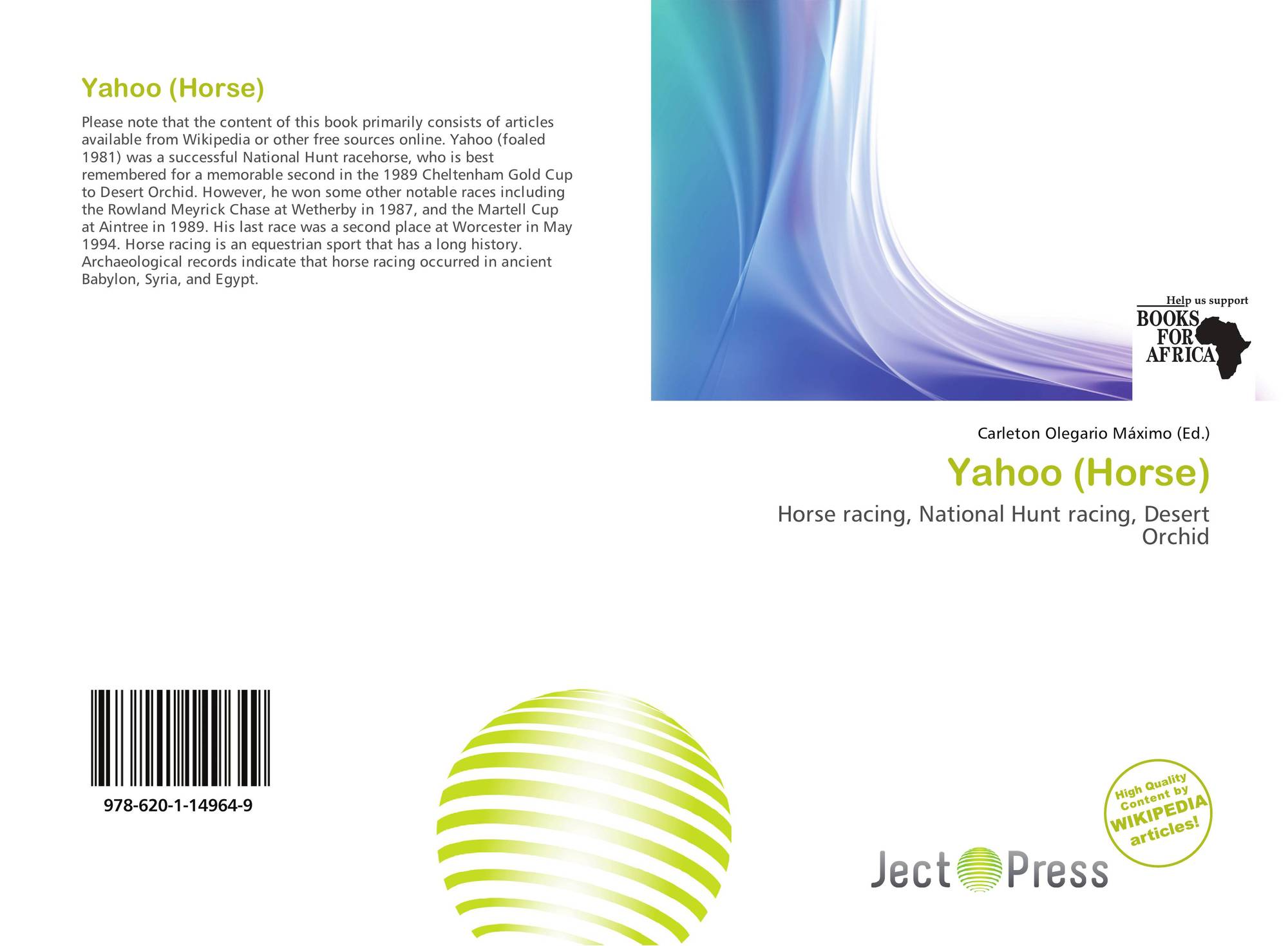 hight resolution of bookcover of yahoo horse