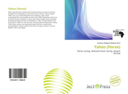 small resolution of bookcover of yahoo horse