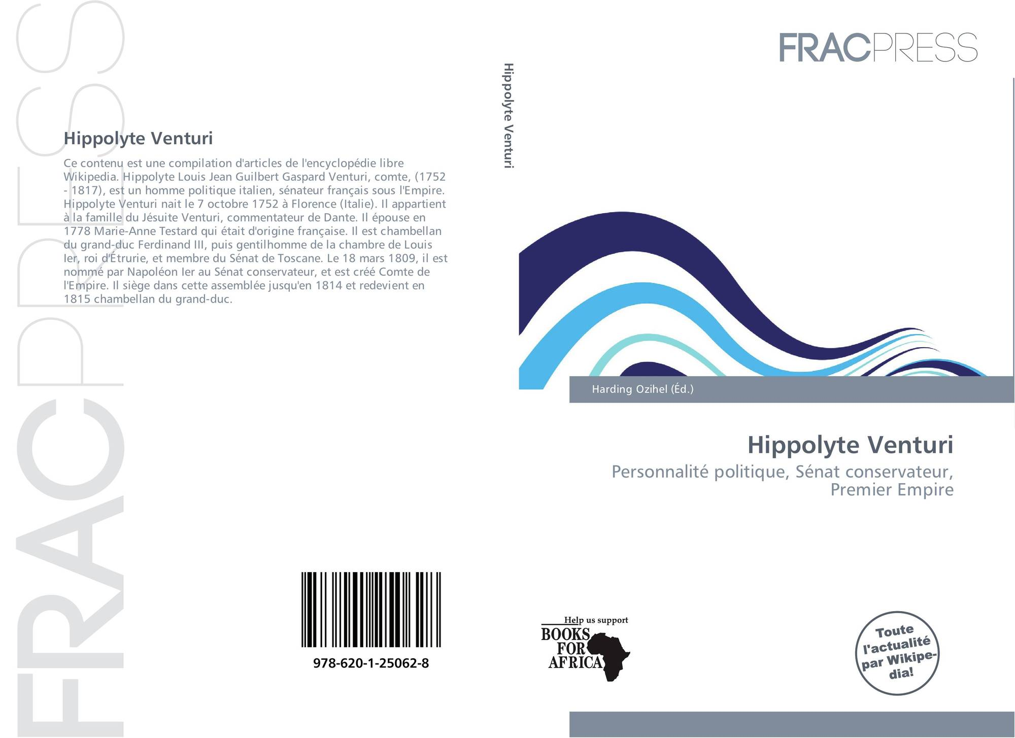 hight resolution of bookcover of hippolyte venturi