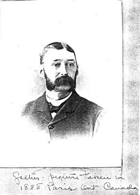 Charles Bruce Capron, son of Horace Capron, 1888: County