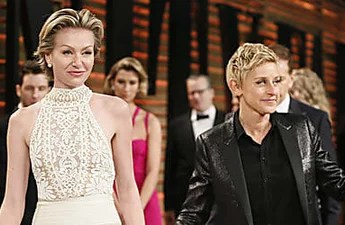 Ellen and Portia Shock Everyone on the Red Carpet