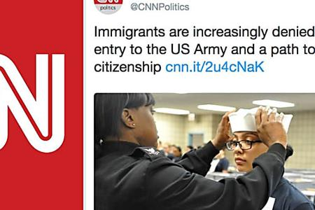 CNN Mocked For Publishing Article Attacking US Army And Accidentally Using Photos Of Navy And Marines