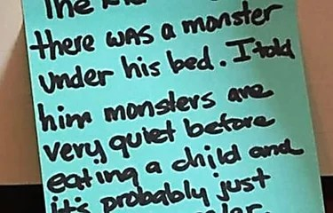 10 Hilarious Notes Dad's Left Their Kids