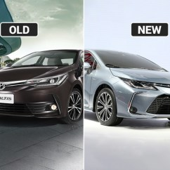 New Corolla Altis Launch Date Speedometer Grand Avanza Toyota Vs India Spec Exterior Interior Changes