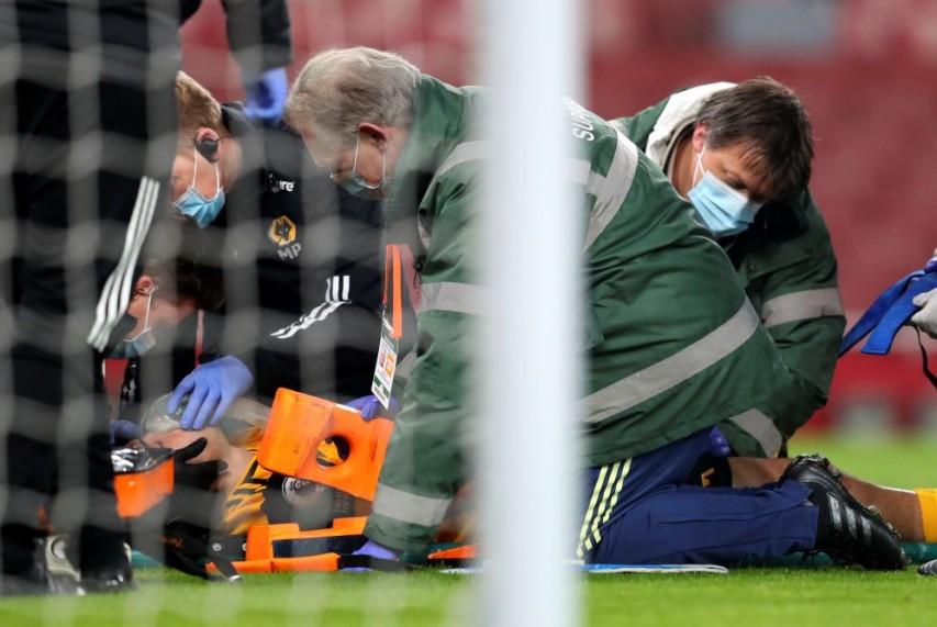 Wolves' Jimenez suffered fractured skull against Arsenal