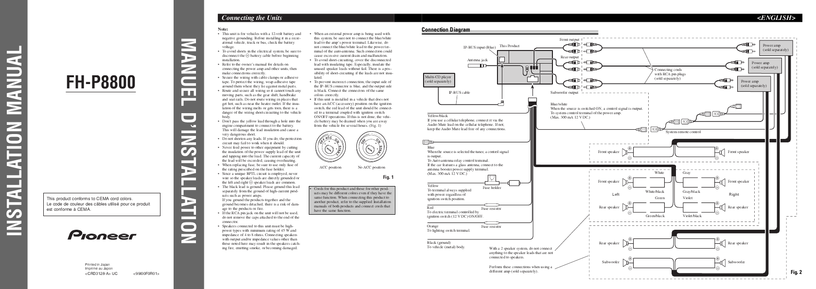 Manual For Pioneer Car Stereo