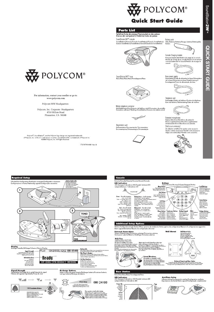 Voting Systems: Polycom Phone Manual