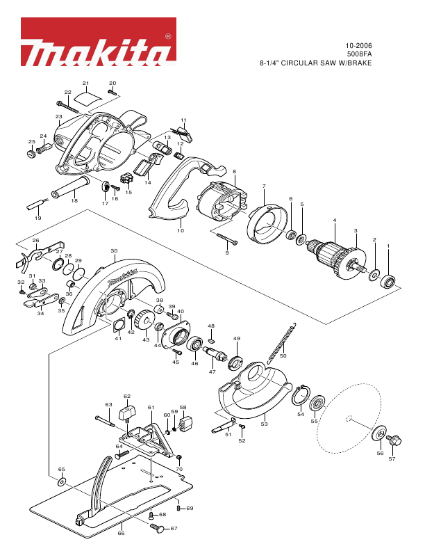 Makita Saw User Manual