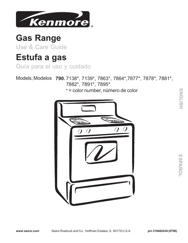 Search kenmore 625384260 625394260 User Manuals