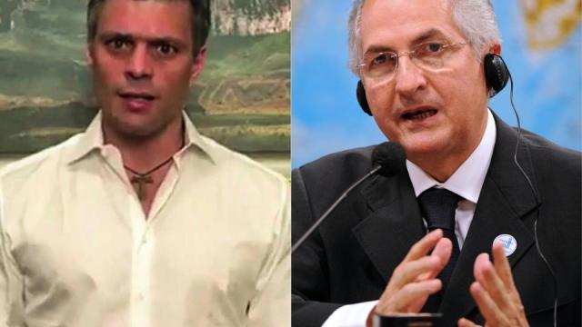 Leopoldo López y Antonio Ledesma cumplían arresto domiciliario.