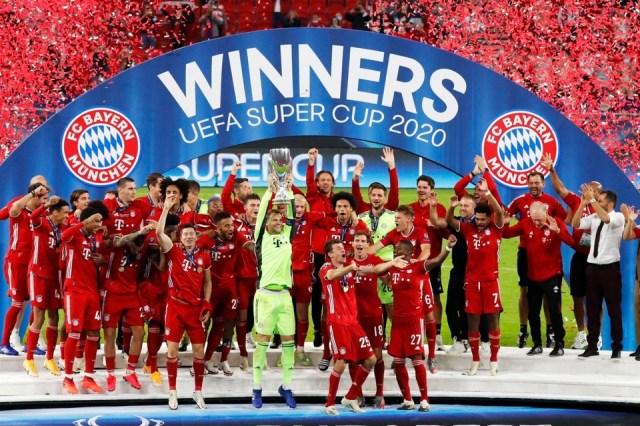 Supercopa de Europa: Bayern Múnich le ganó a Sevill... | Página12