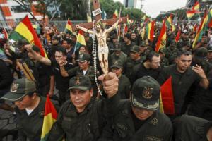Resultado de imagen para golp en bolivia