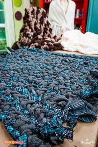 DIY Braided Blanket | Paige Hemmis