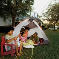 14 Ideas for Camping Out In Your Backyard | Parenting