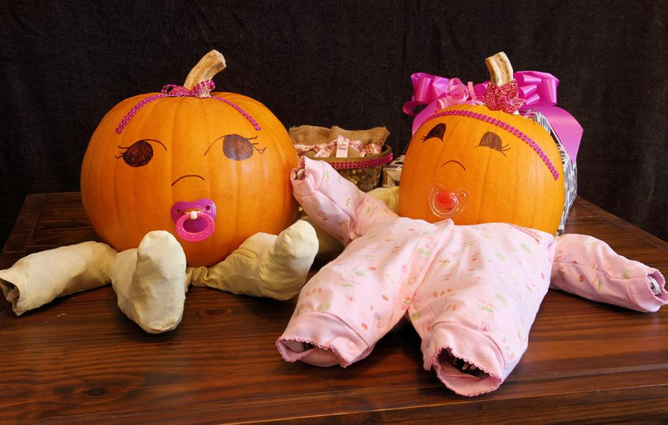 Fall White Pumpkins Wallpaper Fall For These Halloween Baby Shower Ideas Parenting