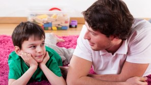 Image result for parents talking with their afraid child