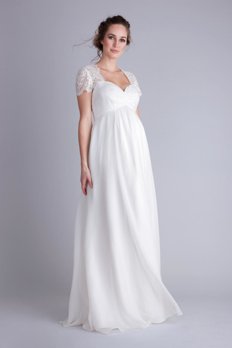 8 Gorgeous Maternity Wedding Gowns  Parents