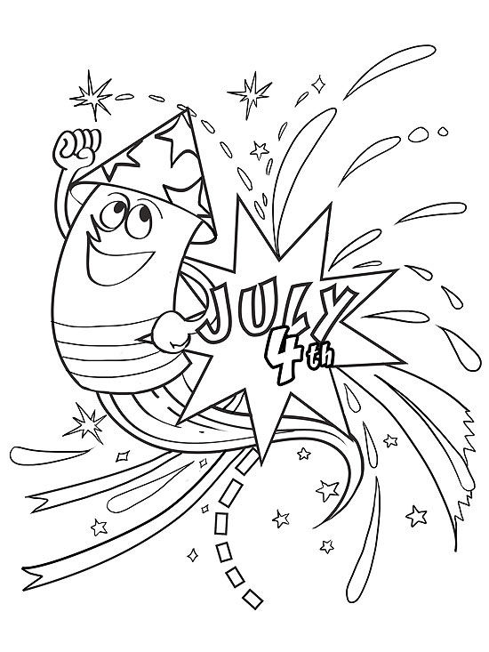 Printable Summer Coloring Pages