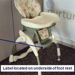 High Chair Recall Swivel Kmart Chairs Parents Graco Recalls Harmony Recalled Image