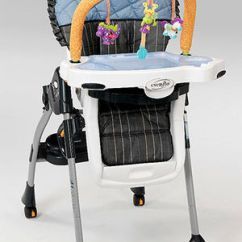 Evenflo Modern Kitchen High Chair Mad Hatter Chairs Parents Majestic Recalled Recall Image