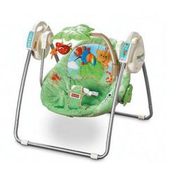 Fisher Price Rainforest High Chair Recall Modern Red Leather Accent Infant Swings Recalled Parents Image