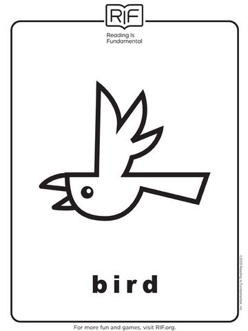 Free Reading Animal Coloring Pages