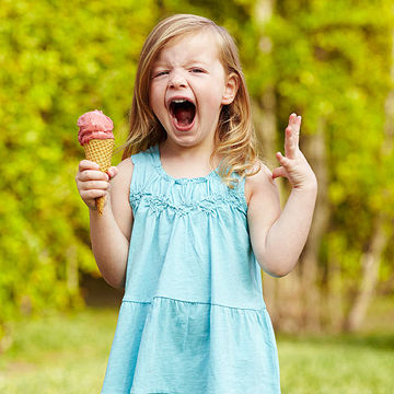 Image result for kid scream for ice cream