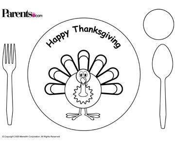 Free Thanksgiving Placecards, Stickers & More for Kids!