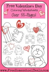 FREE Valentine's Day Preschool Packets and Printables ...