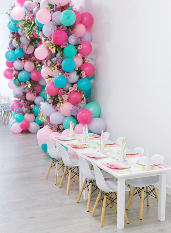 This Unicorn Themed 1st Birthday Party Is Definitely The Stuff Of Dreams Parents