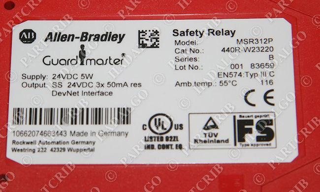 allen bradley safety wiring diagrams polar bear food web diagram 440r www toyskids co msr312p w23220 guardmaster 1771 1769 compactlogix
