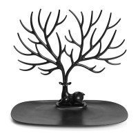 Jewelry Deer Tree Stand Display Organizer Necklace Ring ...