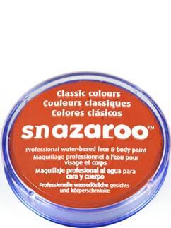 Snazaroo Dark Orange Face Paint - 18ml