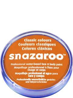 Snazaroo Orange Face Paint - 18ml