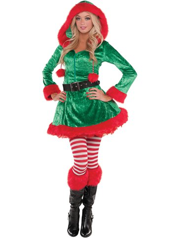 Sassy Elf Adult Costume Party Delights