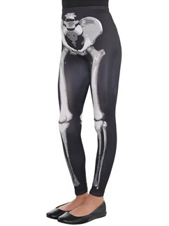Black and Bone Leggings