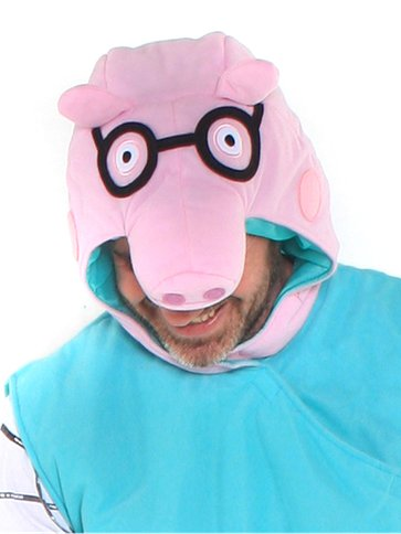 Daddy Pig  Adult Costume  Party Delights