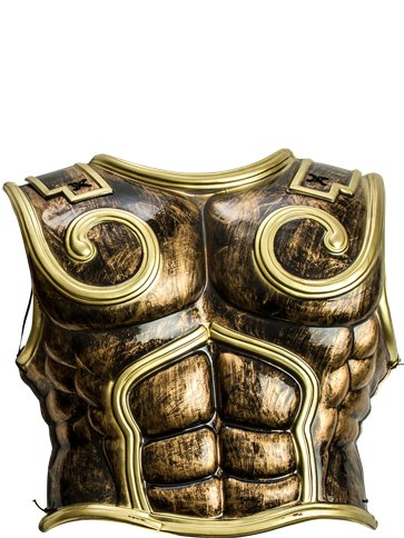 Spartan Warrior Chest Plate  Adult Costume  Party Delights