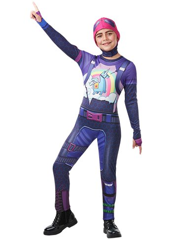 Fortnite Brite Bomber Child & Teen Costume Party Delights