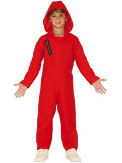 Red Heist Jumpsuit