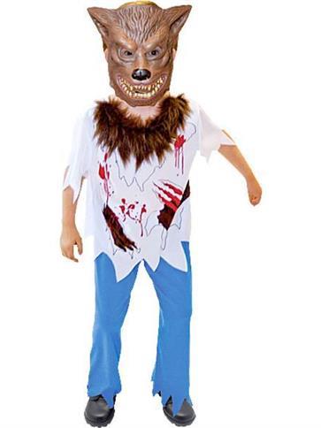 Werewolf  Child Costume  Party Delights