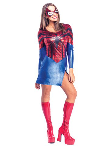 SpiderWoman  Adult Costume  Party Delights
